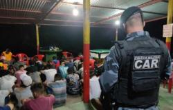 Polícia acaba com 5 festas clandestinas que reuniam mais de 300 convidados