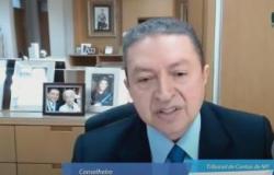 Com covid, Valter Albano não participa de sessão do TCE