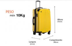 Preparando sua bagagem de mão