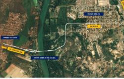 Estado lança nova ponte que liga Cuiabá e Várzea Grande