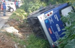Acidente com ônibus em Mogi deixa 13 feridos, dizem bombeiros