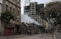 Prédio de 26 andares desaba após incêndio no centro de SP