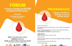 Profissionais da saúde apresentam avanços e os desafios do REDOME em Mato Grosso