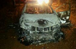 Ladrões rendem cliente em mercado e queimam carro em Cuiabá