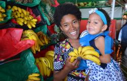 Alunos da Creche São Mateus visitam a Feira do Porto em Cuiabá