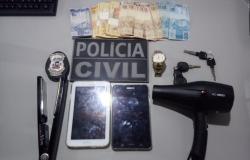 Casal de jovens é preso pela Polícia Civil por tráfico de drogas em Sorriso