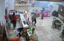 Vídeo flagra assalto a posto de combustível em MT