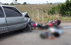 Casal morre em acidente na MT-206 entre Alta Floresta e Paranaíta