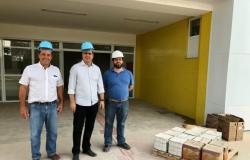 Prefeito realiza visita técnica às obras do novo Pronto Socorro