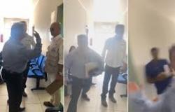 Vídeo - Advogada é agredida dentro de fórum de Mato Grosso