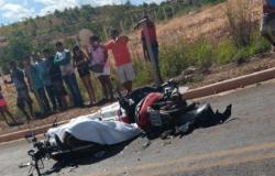 Dois Morrem em Colisão frontal entre motocicletas Cuiabá