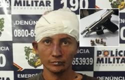 Homem é preso e sofre tentativa de linchamento após vítimas reagirem a emboscada