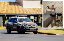 Vídeos mostram adolescente investigada empunhando arma em seu quarto; veja imagens exclusivas