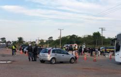 Três motoristas são presos por dirigir alcoolizados em Várzea Grande