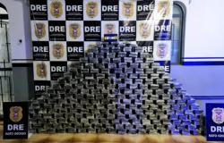 Polícia apreende 750 quilos de cocaína que seriam entregues em Cuiabá
