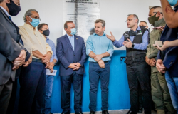 Em Cuiabá, ministro André Mendonça diz que mudança no sistema penitenciário ajuda a combater facções