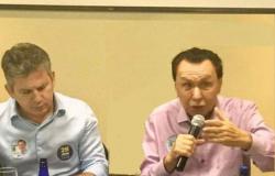 Durante reunião com prefeitos, Bezerra convida Mauro Mendes a se filiar ao MDB