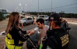 Sete pessoas são presas por embriaguez ao volante em Cuiabá