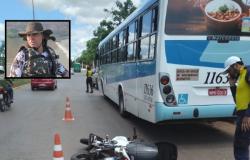 Motociclista que morreu atropelado por ônibus em Cuiabá é identificado