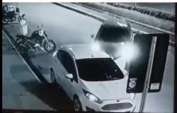 Policial é atropelado em frente de shopping em Cuiabá; suspeito é preso