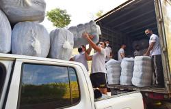Setasc inicia distribuição de 80 mil cobertores para municípios do interior