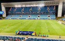 """A Arena Pantanal é um dos melhores estádios do mundo"""", diz vice-presidente da Conmebol"""