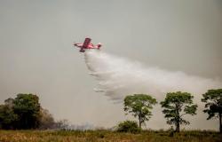 Corpo de Bombeiros realiza capacitação de pilotos agrícolas para combate aos incêndios florestais