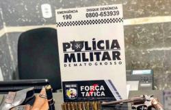 PC prende arsenal em casa de assassino em Cuiabá