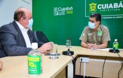 Prefeito reforça parceria com a Fecomércio para acelerar a retomada econômica na capital