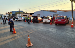 Nove motoristas são presos em uma hora de blitz da Lei Seca
