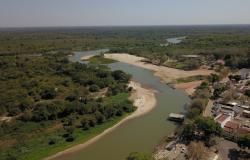 Nível do Rio Paraguai em Cáceres (MT) pode chegar a 40 cm e atingir o menor nível desde 1965