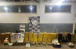 Polícia Militar apreende uma tonelada de maconha e fecha depósito do tráfico em Várzea Grande