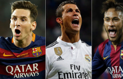 Neymar, CR7 e Messi despontam como favoritos à Bola de Ouro da Copa do Mundo