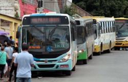 Transporte coletivo terá redução durante jogo do Brasil.