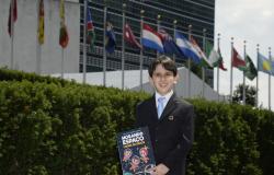 Jovem brasileiro discute agenda 2030 na ONU