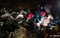 Após capotamento em rodovia estadual, mulher morre e outra fica gravemente ferida