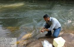 Água em rio em MT está apta para banho e prática de esportes