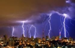 CPTEC emite alerta de temporal e granizo para o final de semana em Cuiabá e mais 43 cidades de MT