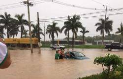 Fortes chuvas deixam cidade de MT em situação de emergência