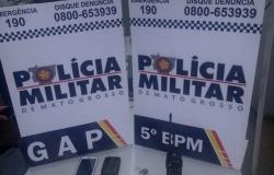 Polícia frustra tentativa de menor de idade roubar mercado em Rondonópolis
