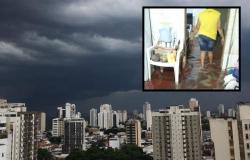Temporal alaga casas e moradores perdem todos os móveis