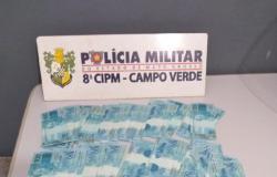 PM prende quadrilha com R$ 25,5 mil em notas falsas em Campo Verde