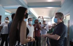 """""""Hospital Regional vai passar por mudança radical na infraestrutura e atendimento"""", afirma governador em Barra do Bugres"""