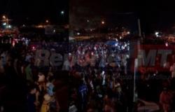 PM fecha baile funk com quase 500 pessoas em Cuiabá