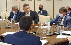 Mauro Mendes tenta em Brasília livrar Mato Grosso de pagar multa de R$ 600 milhões