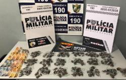 Rotam prende homem com 190 porções de maconha no bairro Marajoara