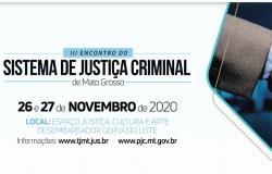 Presidente do TJ fará abertura do III Encontro do Sistema de Justiça Criminal de MT