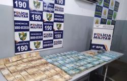 PM prende suspeitos de aplicar golpe e apreende R$ 1 milhão em Várzea Grande