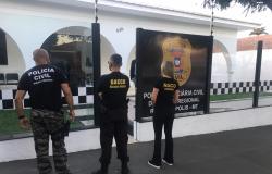 Operação afasta secretário e cumpre buscas em residência e gabinete do prefeito de Rondonópolis