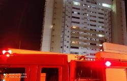 Jovens fumando narguilé colocam fogo no prédio e moradores armam barraco